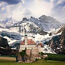 Imaginary landscapes: The castle by Kurt  Tutschek