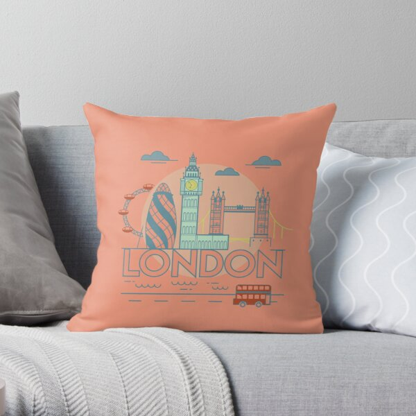 London City Throw Pillow