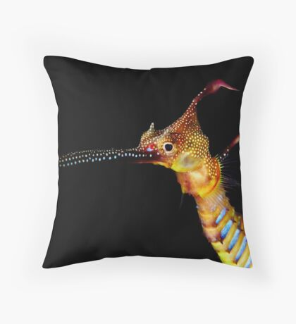 Seadragon Portrait Throw Pillow