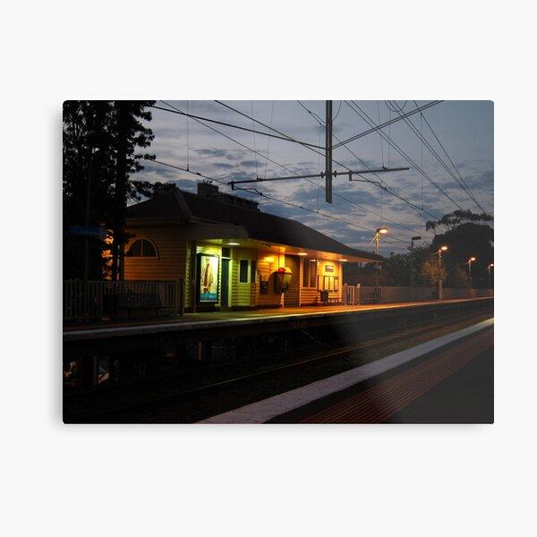 Collingwood Train Station Metal Print