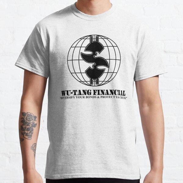 Wu Financial Hip Hop Diversify Your Bonds and Protect Ya Check Shirt Classic T-Shirt