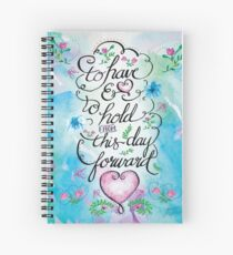 To Have and to Hold by Jan Marvin Spiral Notebook