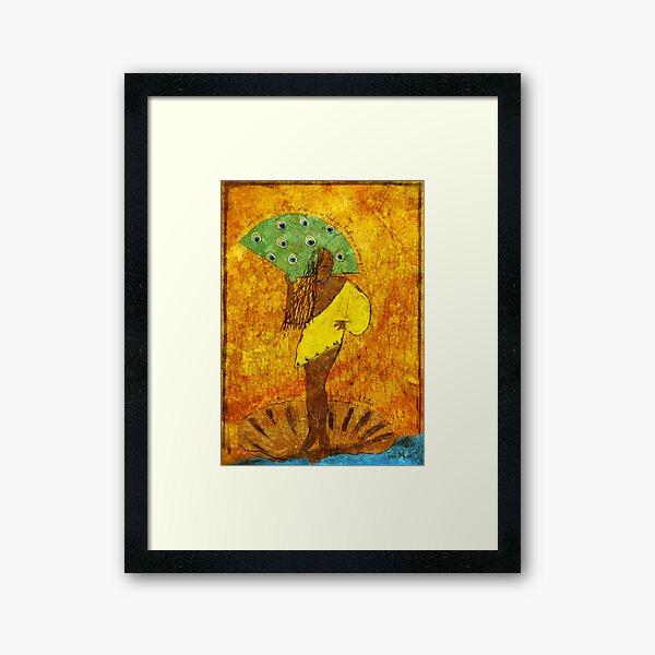 Oshun, Santeria Goddess of Love Framed Art Print