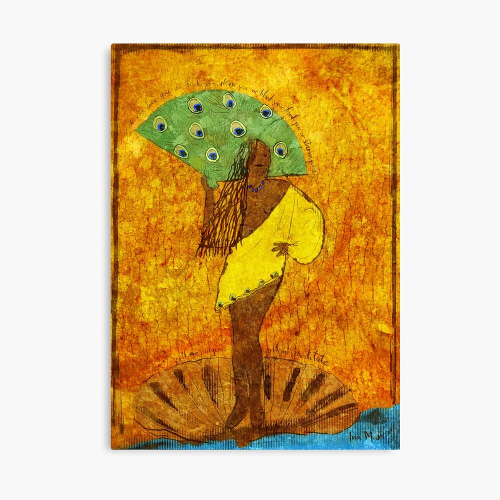 Oshun, Santeria Goddess of Love Canvas Print