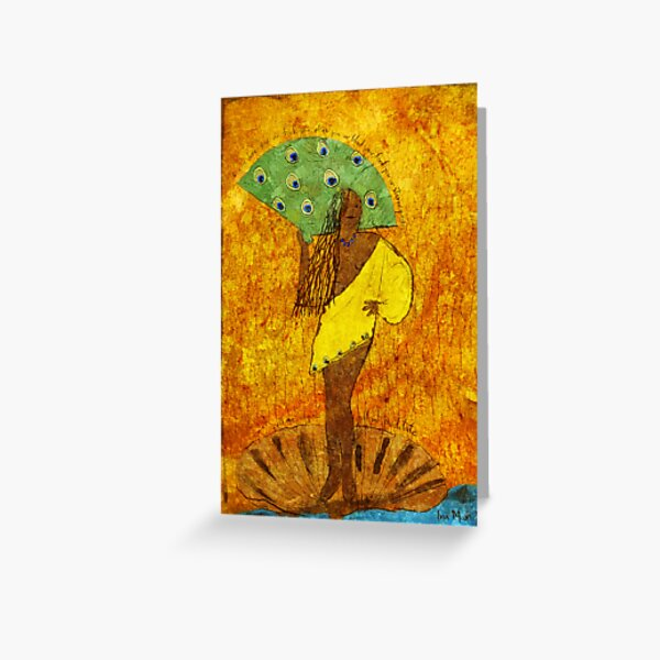 Oshun, Santeria Goddess of Love Greeting Card
