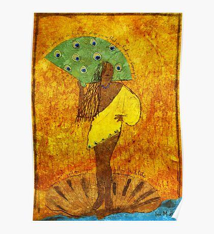 Oshun, Santeria Goddess of Love Poster