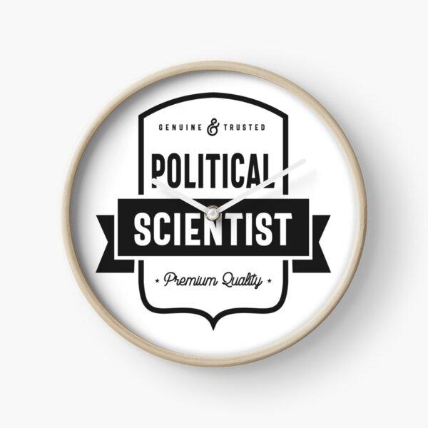 Political Scientist Clock