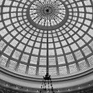 Chicago Cultural Center - Tiffany Glass Dome 2 by Crystal Clyburn