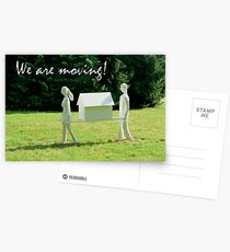 We are moving house! Postcards