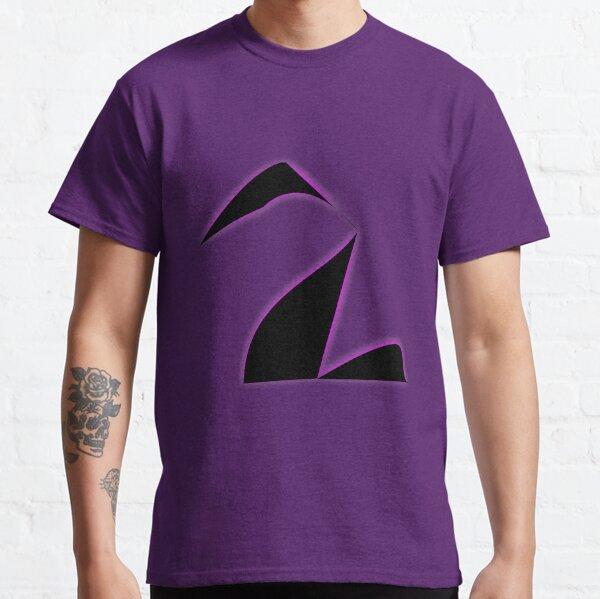 Black Purple Swan. Classic T-Shirt