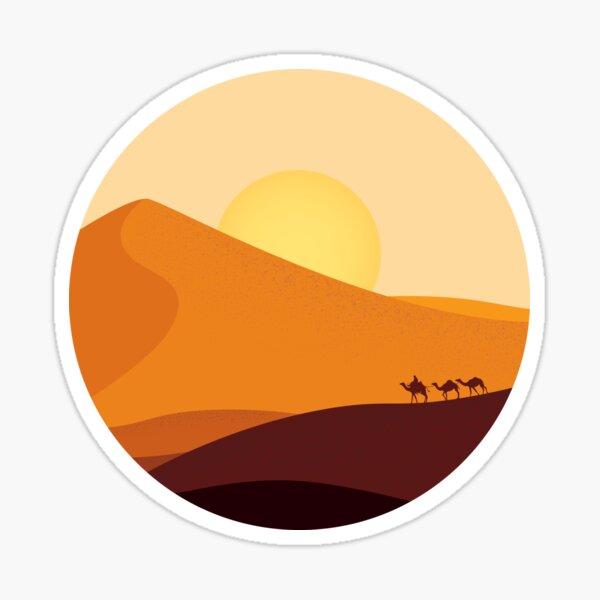 Desert Horizon Sticker