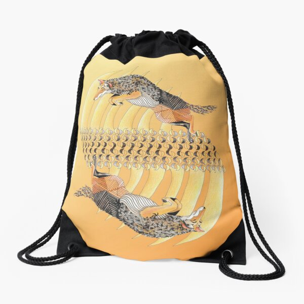 Coyote Band Drawstring Bag