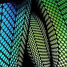 black mini skirt fun fishnets by PJ Ryan