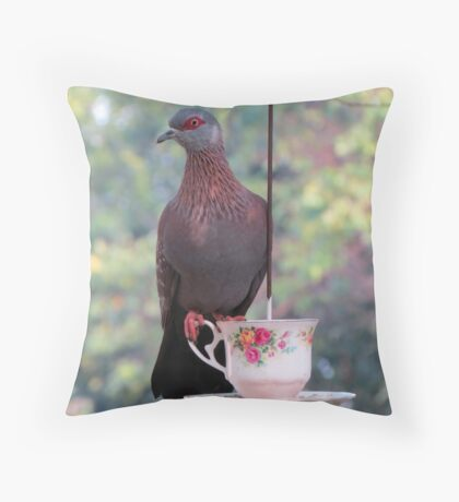 Another dove Throw Pillow