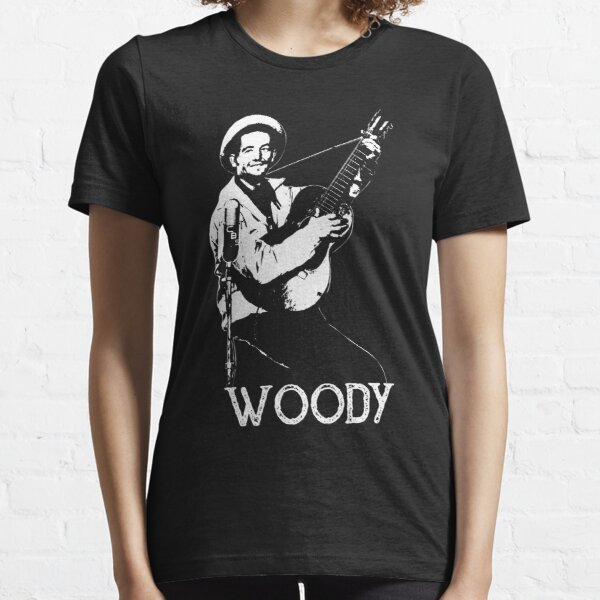 Woody - White Stencil Essential T-Shirt