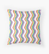 Rainbow Squiggle Floor Pillow