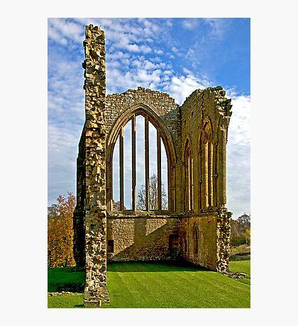 Egglestone Abbey Ruins - Co Durham Photographic Print