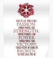 The Sith Code Poster