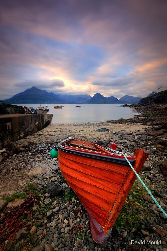 Elgol Boat... by David Mould