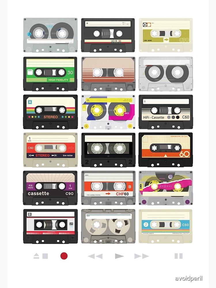 Cassette Tapes (mixtape Love) by avoidperil