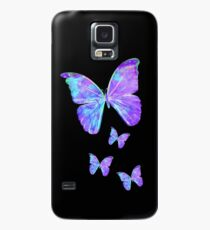 Purple Butterflies by Jan Marvin Case/Skin for Samsung Galaxy