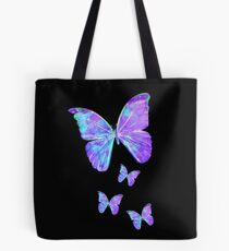 Purple Butterflies by Jan Marvin Tote Bag