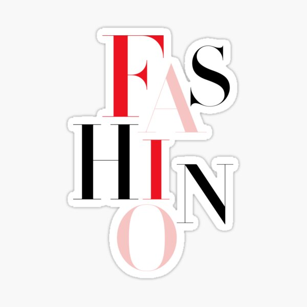 fashion Sticker