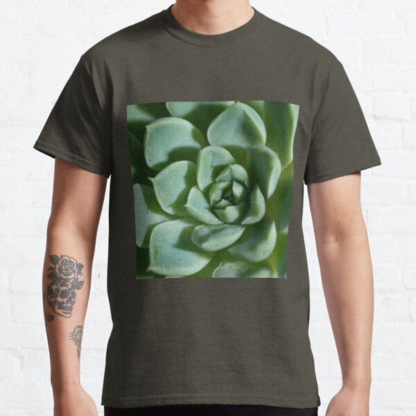 Petalled Succulent - Agave Classic T-Shirt