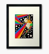 Lámina enmarcada Astrónomo