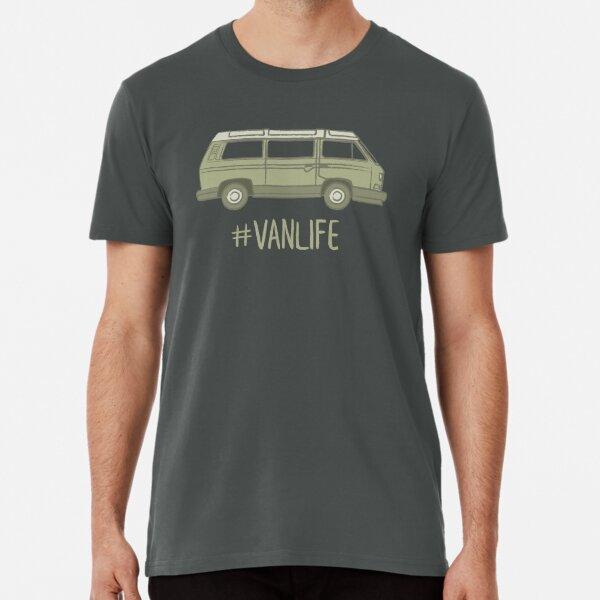 Westfalia Vanagon #vida Camiseta premium