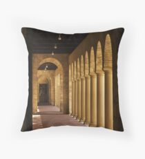 Hall of Learning Throw Pillow
