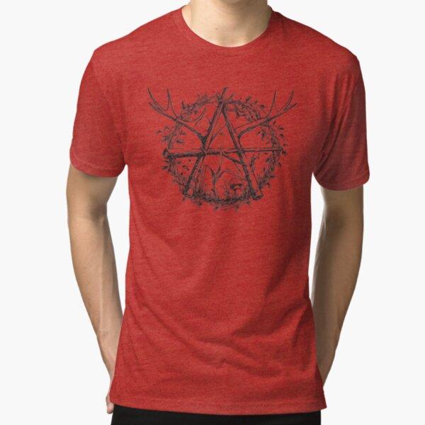 Antler Mayhem Lashed Logs Logo Tri-blend T-Shirt
