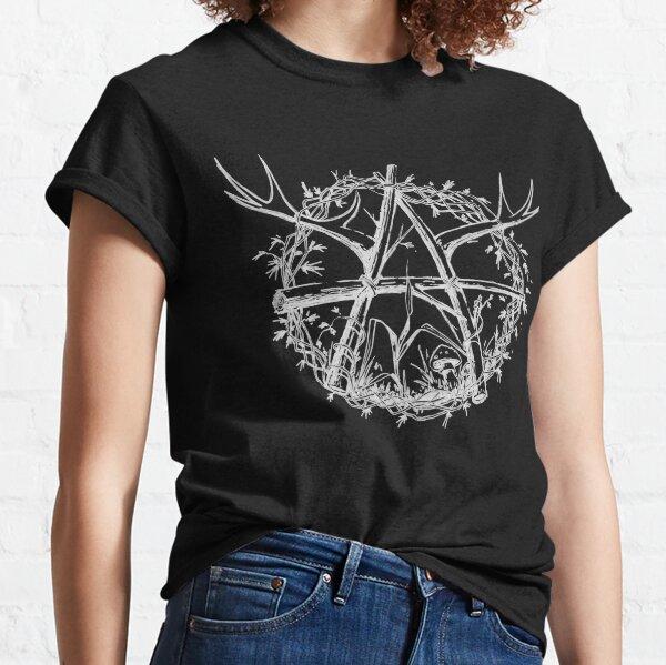 Antler Mayhem Lashed Logs White Logo Classic T-Shirt