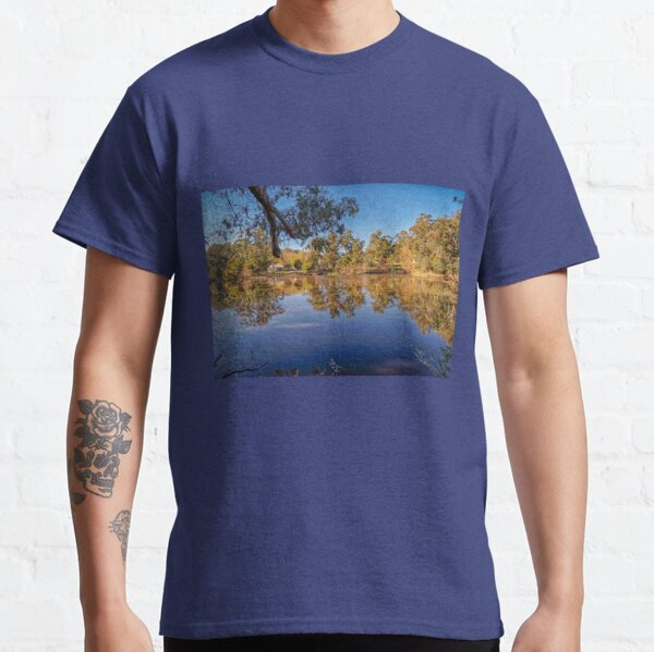 Jubilee Lake Reflections, Daylesford, Victoria, Australia Classic T-Shirt
