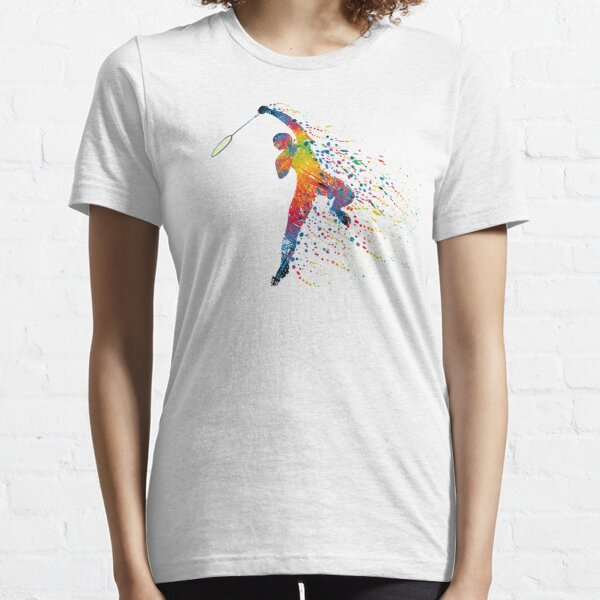 Badminton Jump Smash Essential T-Shirt