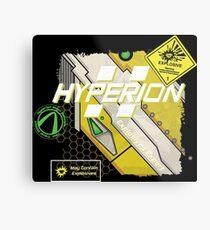 Hyperion Explosives Expert Metal Print