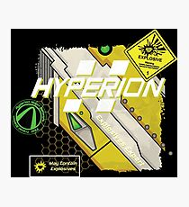 Hyperion Explosives Expert Photographic Print