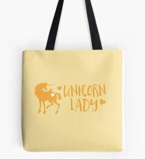 Unicorn Lady Tote Bag