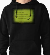 The philosophy of kindness Pullover Hoodie