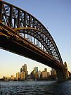 Under the Bridge - Sydney Harbour Bridge by Helen Vercoe