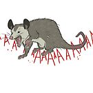 Opossum Scream by Duessa