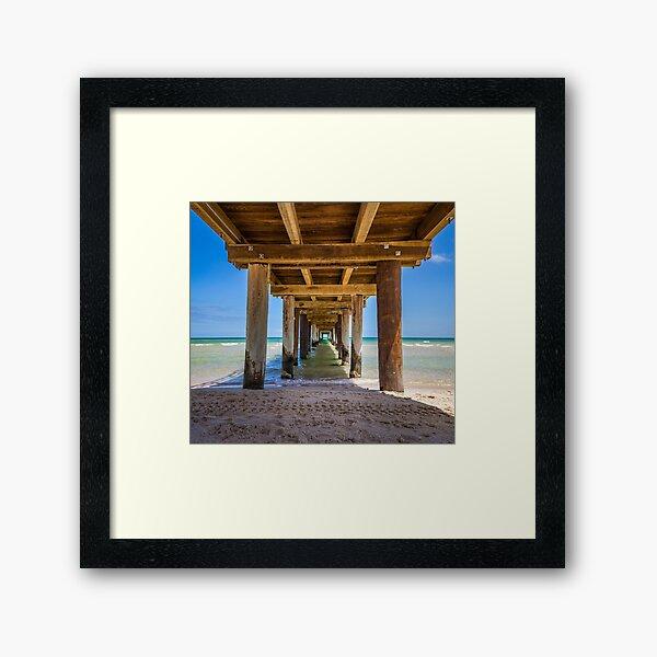 Frankston Pier Framed Art Print