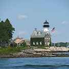 Mystic Lighthouse by travelingdixie