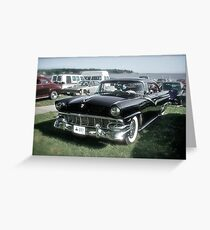 1956 Ford Fairlane - Custom Classic Cars Series Greeting Card