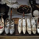 Vintage Shoes and Bonnets by Colleen Drew