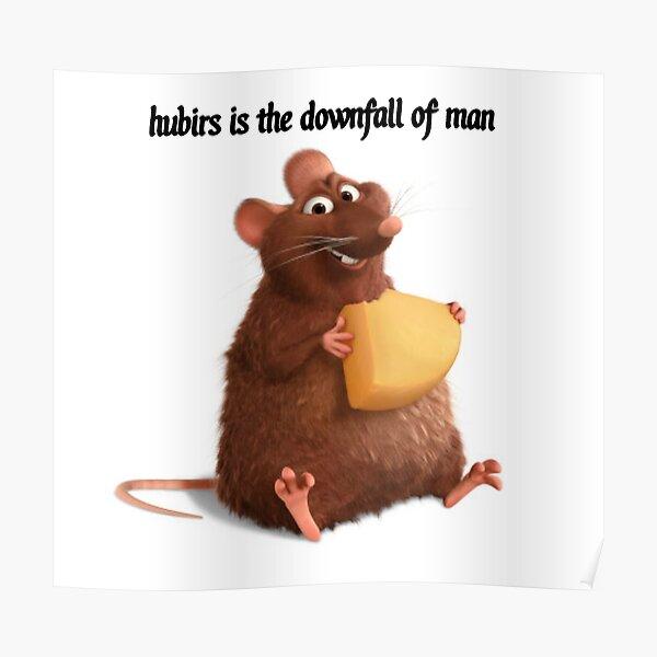 Ratatouille Memes Posters Redbubble