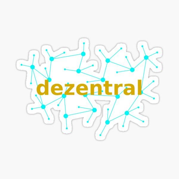 dezentral Sticker