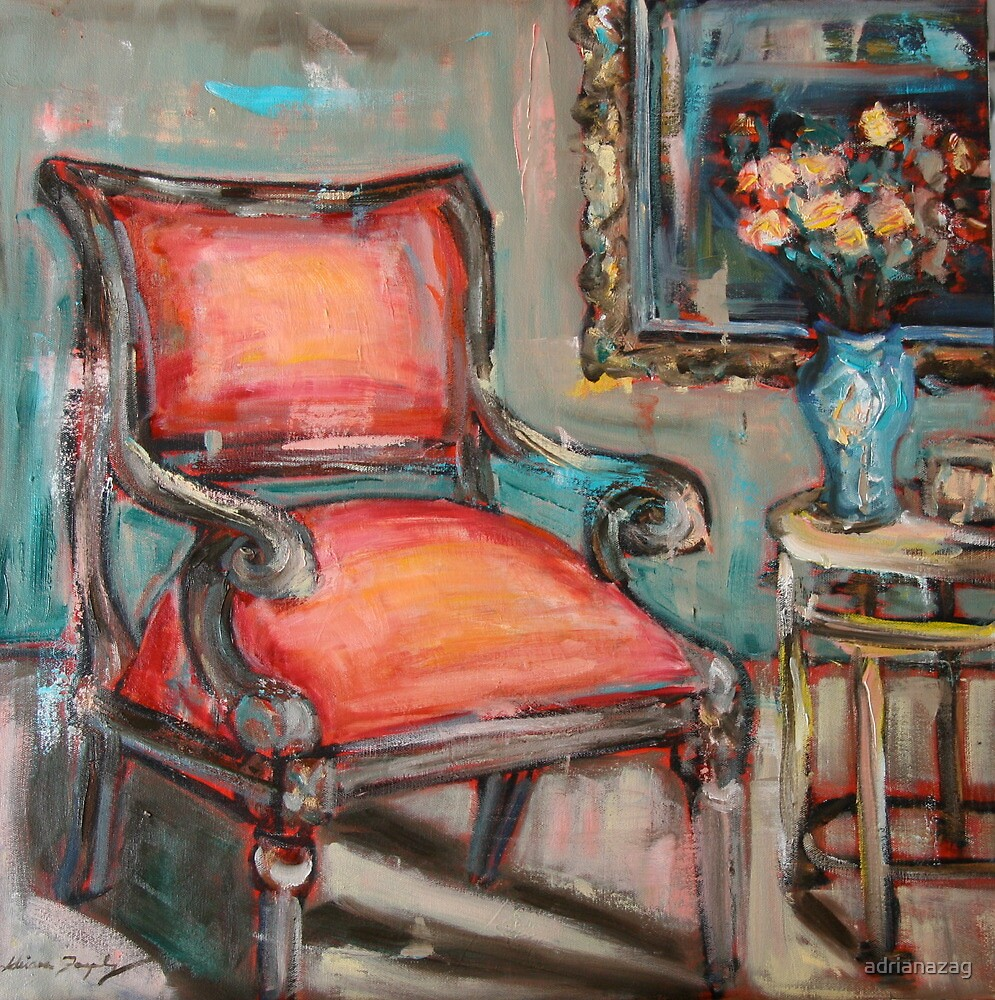 Red Chair by adrianazag