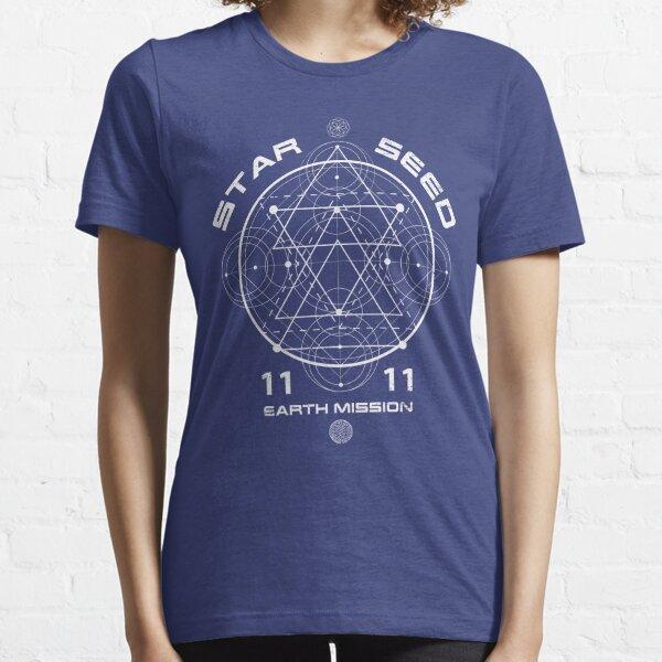 Starseed Sacred Geometry 1111 Essential T-Shirt