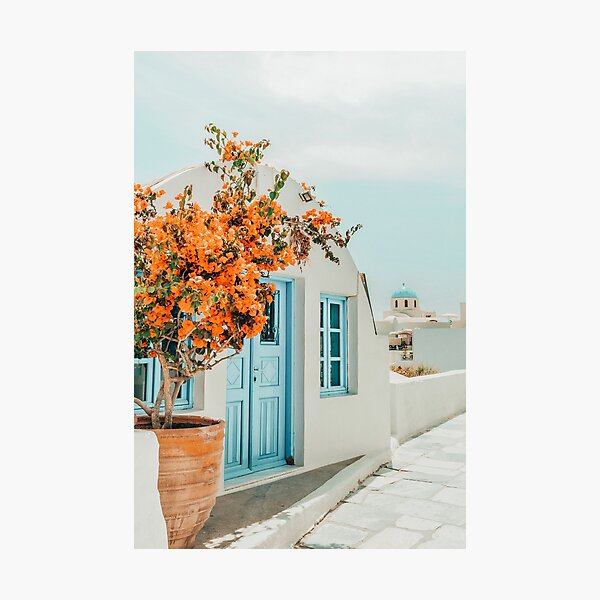 Greece Airbnb II #photography #greece #travel Photographic Print